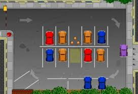 Parking cars game